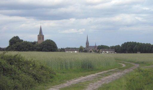 Dorpsontwikkeling en de locatie van middeleeuwse kerken