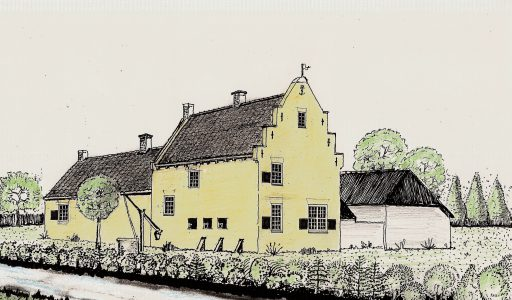 Het Slotje: adellijk huis Lanckvelt