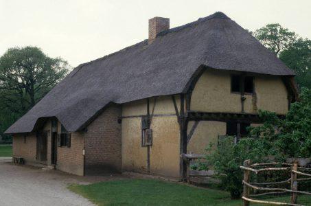 De oudste boerderijen: houtbouw