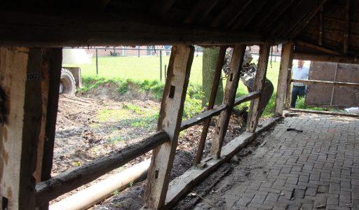 Het bouwen van de boerderij